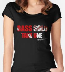 Bass Solo, Take One KEA  Women's Fitted Scoop T-Shirt