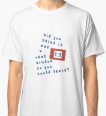 Split Film - Hedwig Window Classic T-Shirt