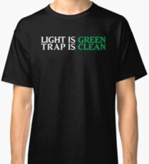 Ghostbusters - Light Is Green, Trap Is Clean - White Clean Classic T-Shirt
