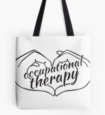 I Heart Occupational Therapy Tote Bag