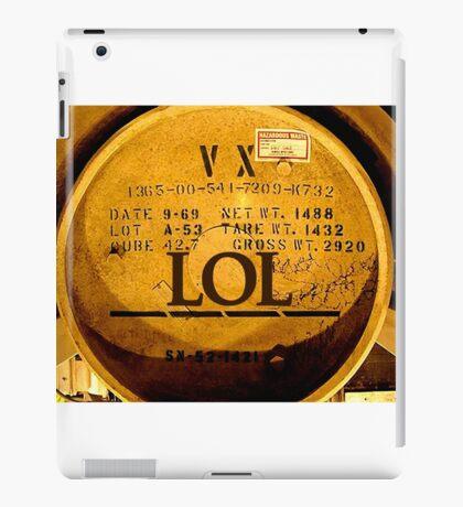 LOL - VX Nerve Agent - North Korea - Camp 22 iPad Case/Skin