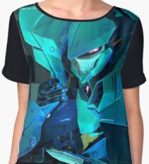 MechaQueen Women's Chiffon Top