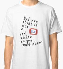 Hedwig - Split - Black Font Classic T-Shirt