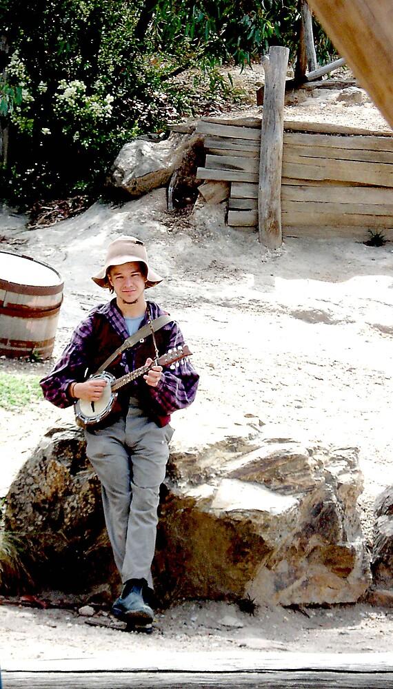 banjo  by yellowcar9