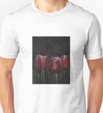 Saucy Tulips Unisex T-Shirt