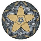Art Deco Mandala by Giselle Luske