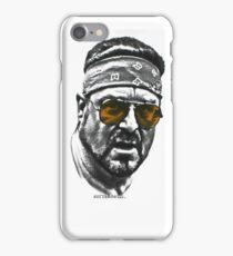 Walter Schoback; Big Lewbowski  iPhone Case/Skin
