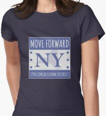 Move Forward New York Logo Tee Women's Fitted T-Shirt