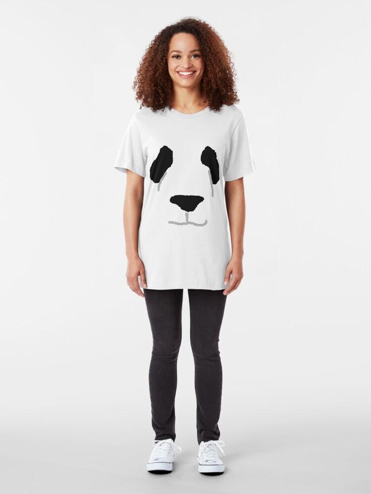 Alternate view of Panda Slim Fit T-Shirt