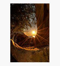 Sunset at Spanish Bank Photographic Print