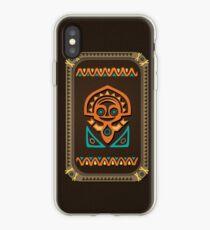 Disney's Polynesian Village Tiki iPhone Case
