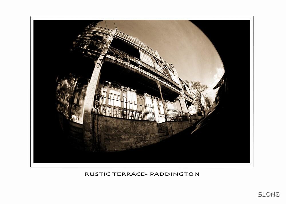 rustic terrace paddington by SLONG
