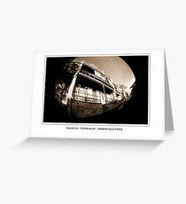 rustic terrace paddington Greeting Card