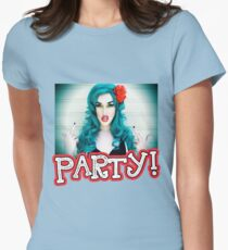 Party! Womens Fitted T-Shirt