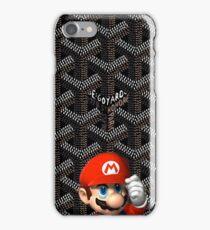 mario bros goyard iPhone Case/Skin