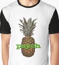 Psych Pineapple Graphic T-Shirt