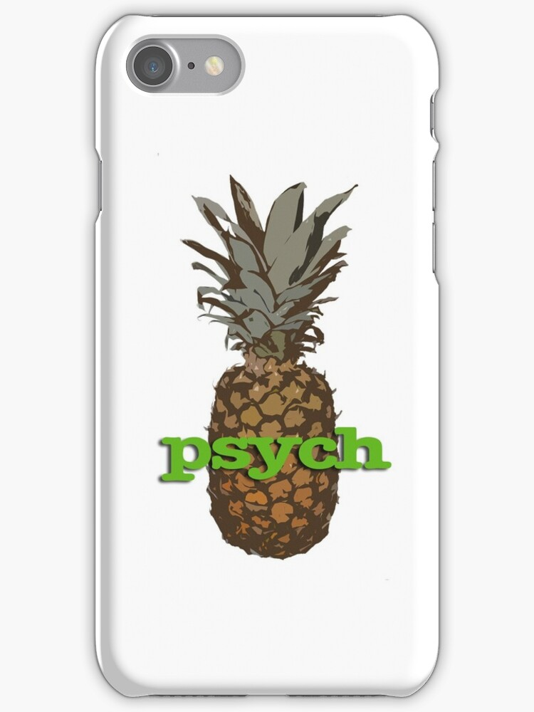 Psych Pineapple by Keeters23