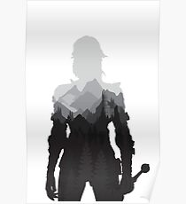 The Witcher 3 - Ciri (No Logo) Poster
