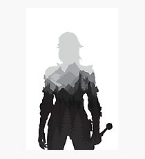 The Witcher 3 - Ciri (No Logo) Photographic Print