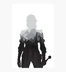 The Witcher 3 - Ciri (No Logo) Photographic Print