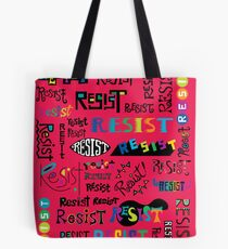Resist Them cherry Tote Bag