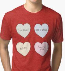 Sassy Hearts Tri-blend T-Shirt
