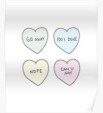 Sassy Hearts Poster