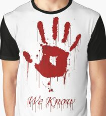 "AWESOME Dark Brotherhood ""We Know"" Graphic T-Shirt"
