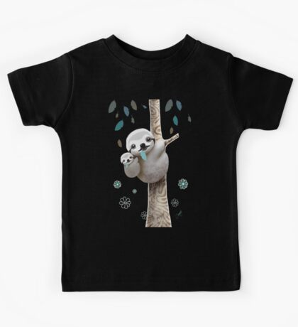 Baby Sloth Midnight Kids Clothes