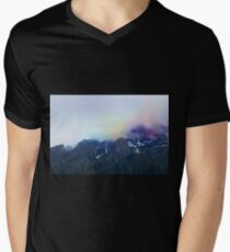 Colorful Travel Mens V-Neck T-Shirt