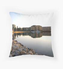 Glenelg Landscape, South Australia Throw Pillow