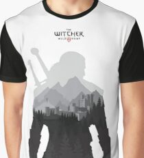 The Witcher 3 - Geralt of Rivia Graphic T-Shirt