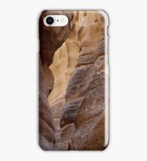 Slot Canyon - Tent Rocks, New Mexico iPhone Case/Skin