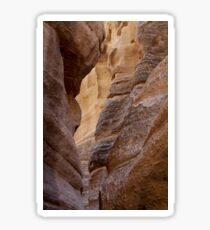Slot Canyon - Tent Rocks, New Mexico Sticker
