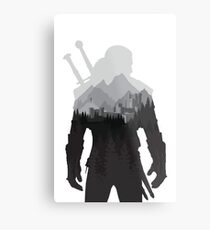 The Witcher 3 - Geralt of Rivia (No Logo) Metal Print