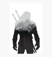 The Witcher 3 - Geralt of Rivia (No Logo) Photographic Print