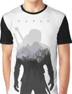 The Witcher 3 - Geralt of Rivia (Signs) Graphic T-Shirt