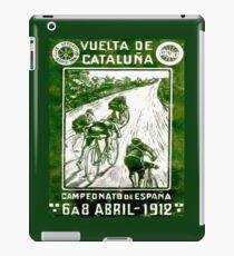 VUELTA DE CATALUNA; Vintage Bike Racing Print iPad Case/Skin