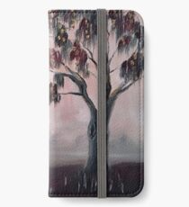 Weeping in the Mist iPhone Wallet