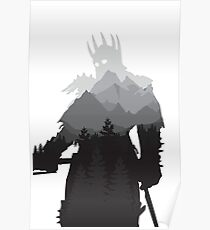 The Witcher 3 - Eredin (No Logo) Poster