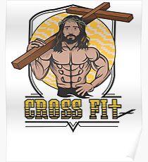 Jesus CrossFit Poster
