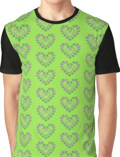 Pink Irish Hearts Graphic T-Shirt
