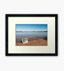 Offline Framed Print