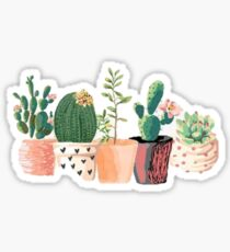 Classic Cactus Sticker