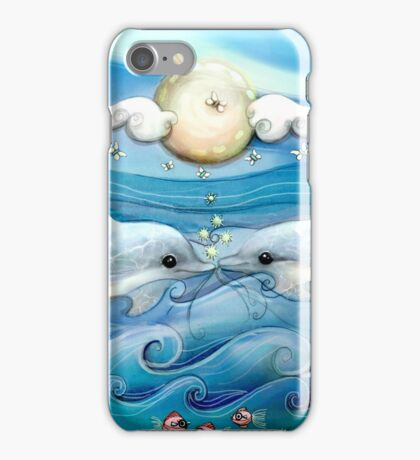 baby dolphins iPhone Case/Skin