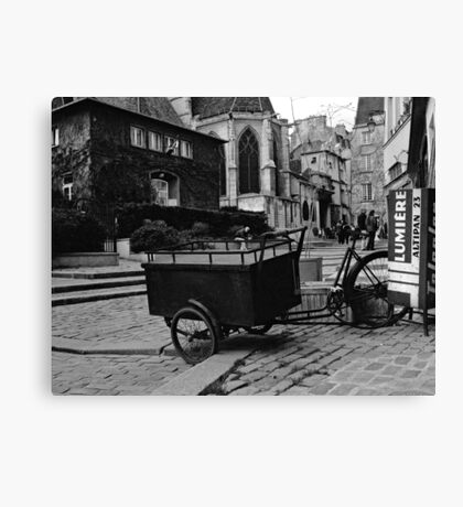 the cart Canvas Print