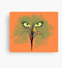 Weeping Willow Green Canvas Print