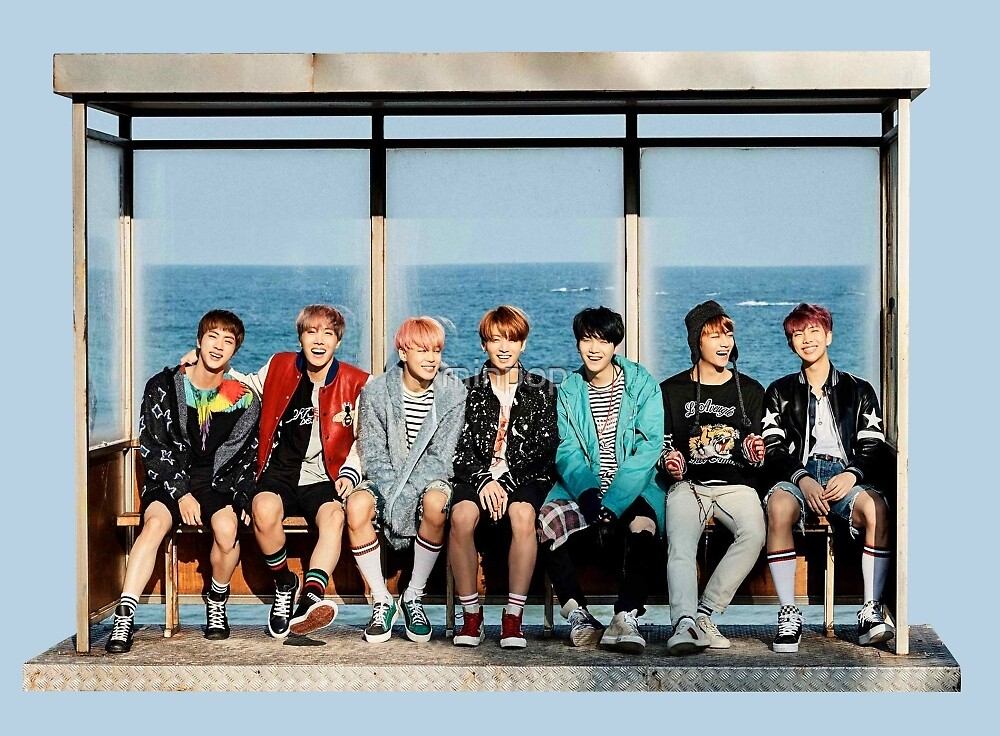 Quot Bts Spring Day Quot By Minpop Redbubble