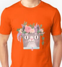 Spring cat Perkins Unisex T-Shirt