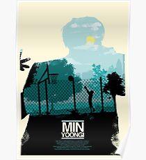 BTS x Olly Moss: Min Yoongi Poster